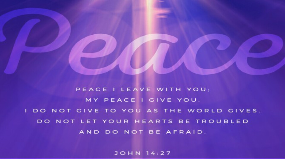 Sunday Service:  The STAR . . . PEACE